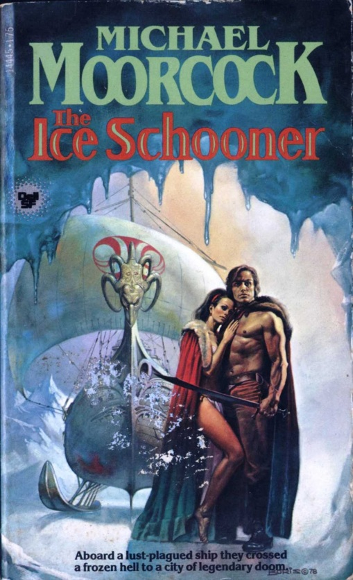 book review the ice schooner by michael moorcock
