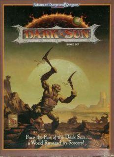 The Wertzone: The Worlds of D&D: Dark Sun