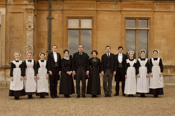 GRAZING FOR GIRLS: Downton Abbey & 1912